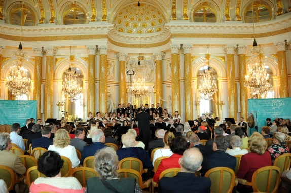 100th anniversary of the birth of priest Jan Twardowski, Royal Castle, Warsaw