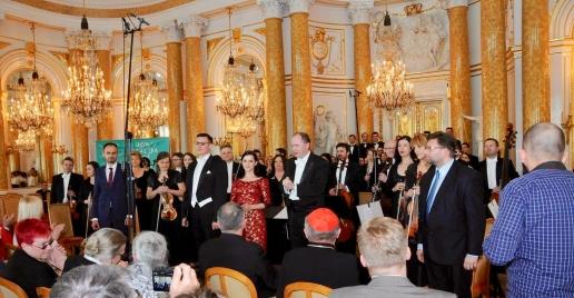 Sebastian Szymański, Artur Janda, Anna Mikołajczyk-Niewiedział, Michał Klauza, prof. dr hab. Paweł Łukaszewski, Choir MUSICA SACRA of Warsaw-Praska Cathedral, Polish Radio Orchestr