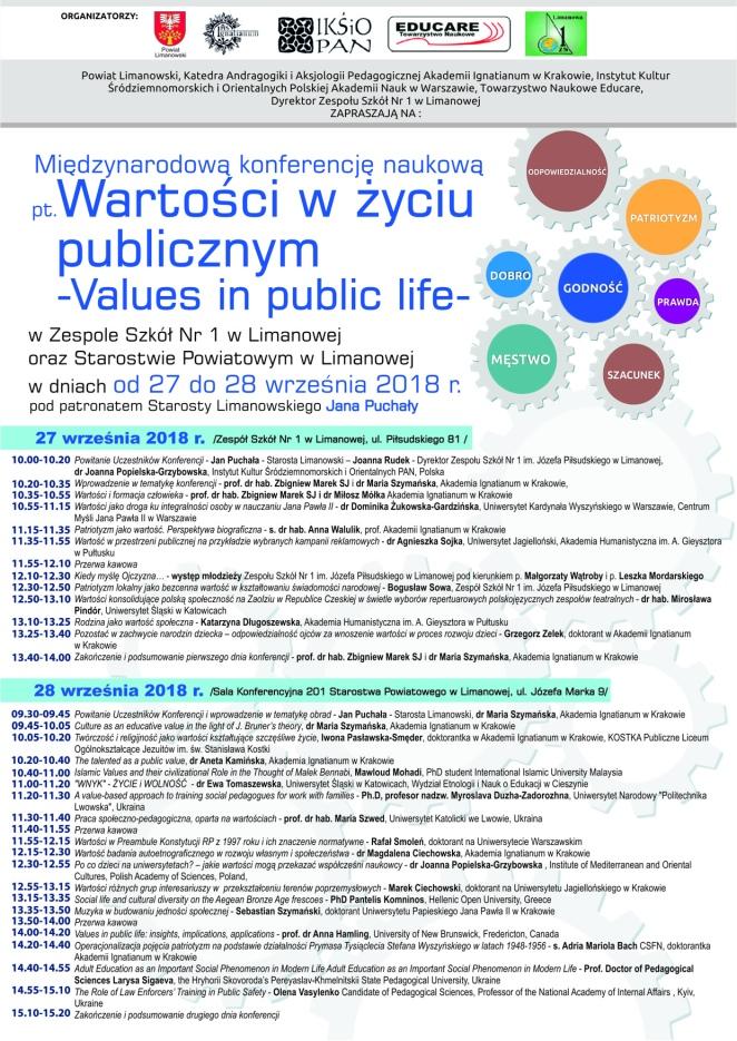 konferencja Limanowa